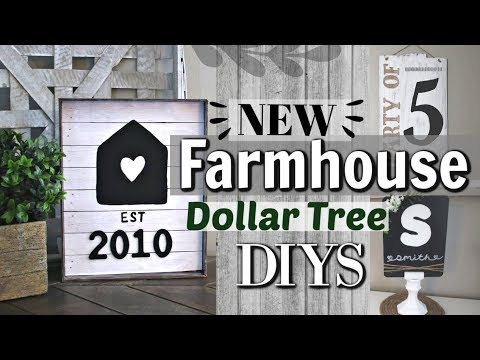 Personalized Farmhouse Decor | Dollar Tree Farmhouse DIYS | Krafts by Katelyn