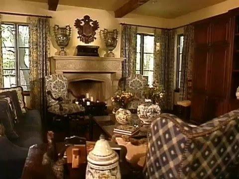 Elegant Tuscan Home Interior Design!! Cool Classic Decoration!!
