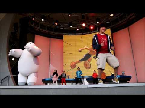 Baymax Super Exercise Show - Shanghai Disneyland - Shanghai Disney Resort