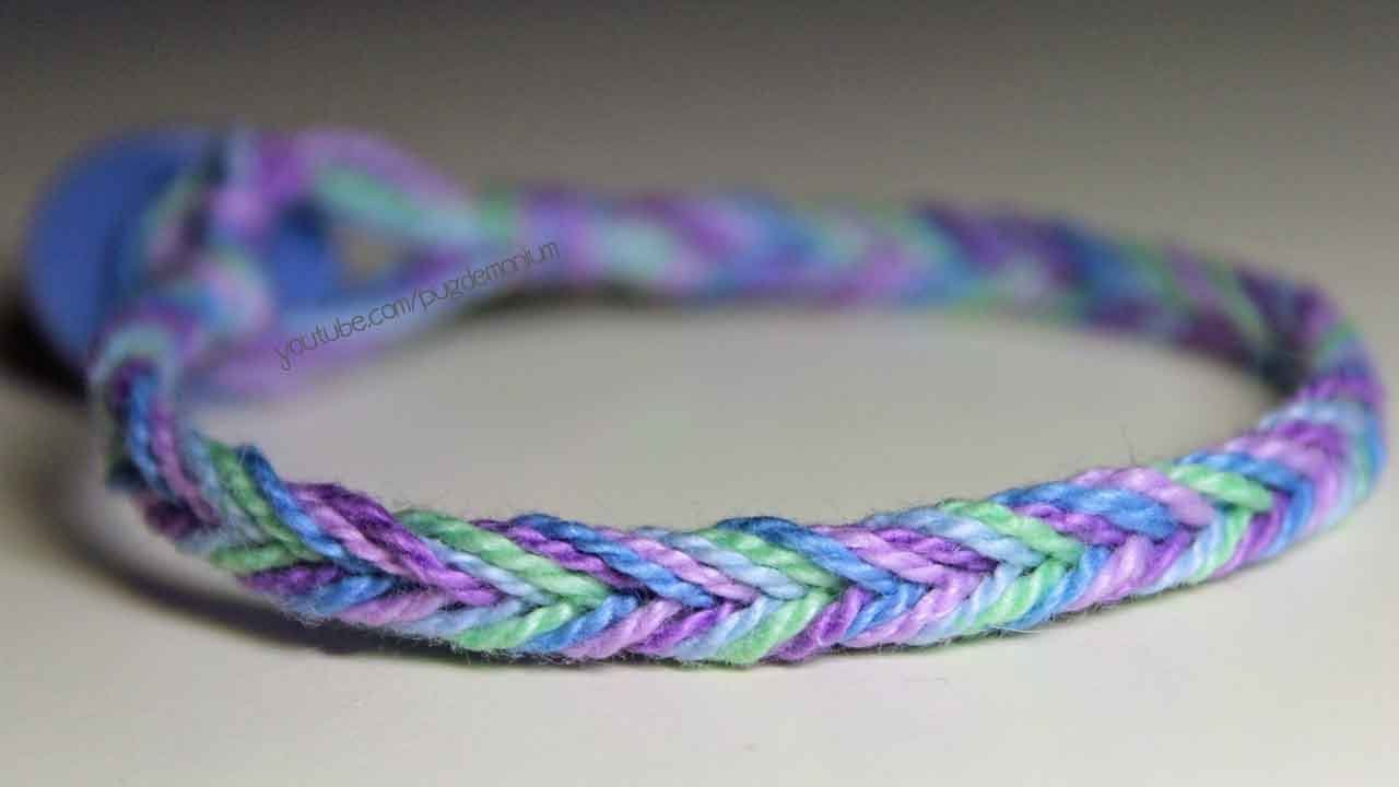 embroidery youtube thread bracelet chevron diy watch friendship