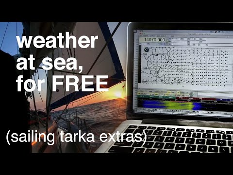 How We Get Weather At Sea For FREE - Sailing Tarka Extras