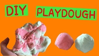 DIY Play Dough! How to Make No Cook Play Dough WITHOUT Cream of Tartar!