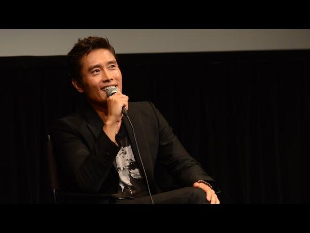 'Inside Men' Q&A   Lee Byung-hun   New York Asian Film Festival