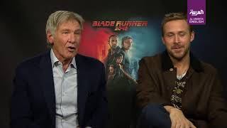 EXCLUSIVE: Ryan Gosling and Harrison Ford talk Blade Runner 2049