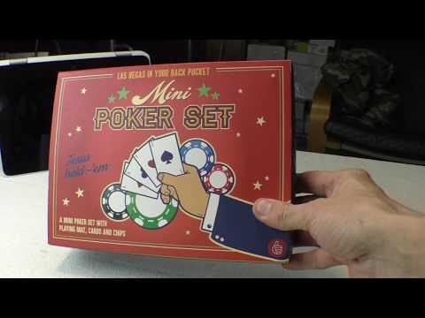 Мини Набор для Покера за $2.99 Распаковка и Испытание 2020 (Mini Poker Set)