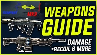 BLACKOUT WEAPONS GUIDE [BETA] - OUTDATED, New Version in Comments!