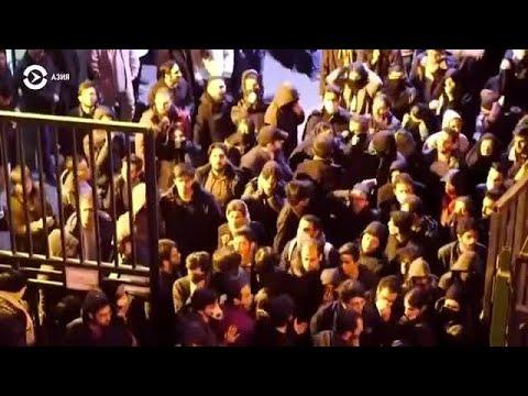 Азия: третий день протестов в Иране