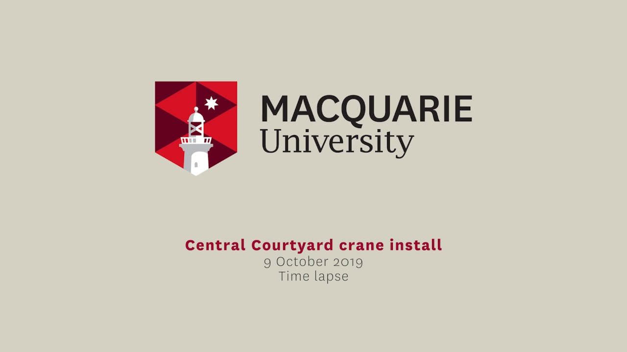 Macquarie University Central Courtyard