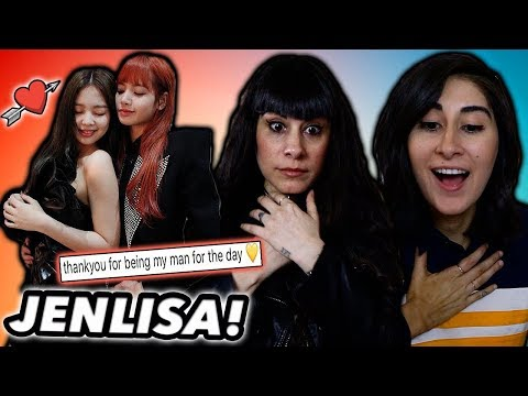 NON KPOP FANS REACT TO JENLISA OF BLACKPINK! (敫旊灆頃戫伂, Jennie and Lisa)