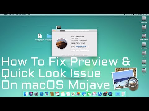 How to Fix Preview and Quick Look issues on macOS Mojave