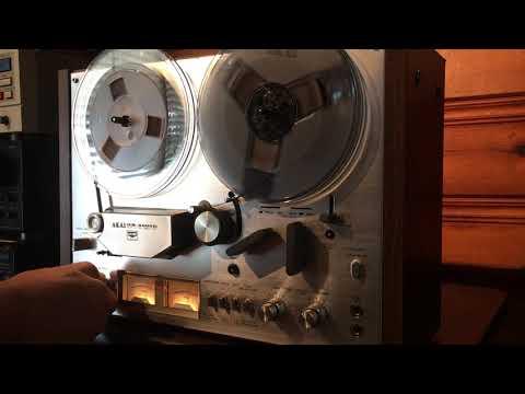 Akai GX-4000D Demonstration
