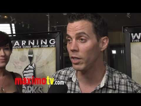 """STEVE-O Interview at """"Forks Over Knives"""" Premiere"""
