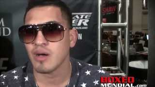 UFC's Anthony Pettis gives his thoughts on Miguel Cotto vs Canelo Alvarez Video