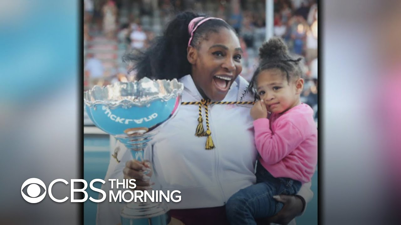 Serena Williams wins first title since daughter's birth