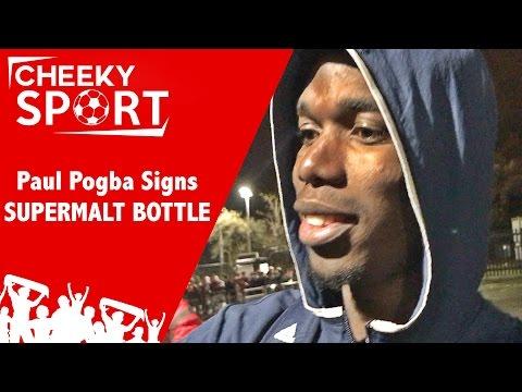 Pogba Signs Supermalt Bottle | Sam Allardyce Is Back | Man Utd 1-0 Tottenham