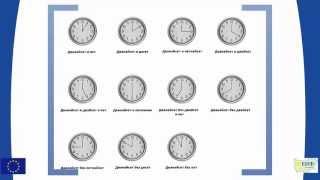 Урок 5 Посоки и часовник
