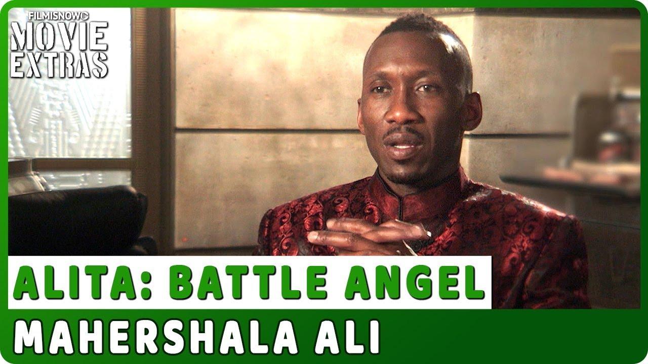 ALITA: BATTLE ANGEL   On-set Interview with Mahershala Ali