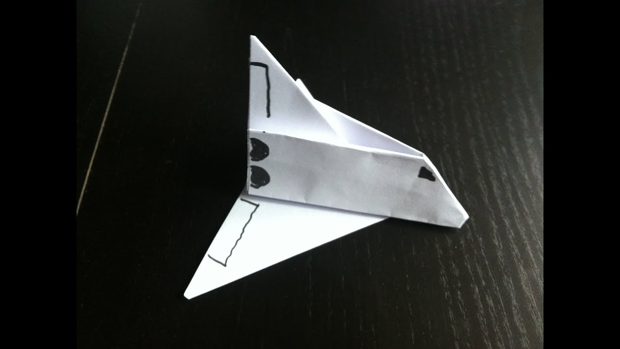 Avion en papier type fus e origami facile youtube - Video d origami facile ...