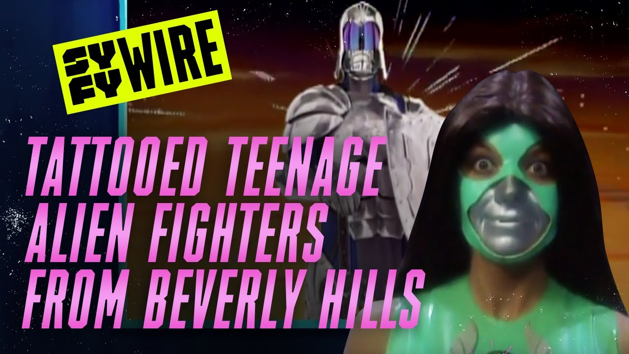 Tattooed Teenage Alien Fighters From Beverly Hills - Everything You Didn't Know | SYFY WIRE