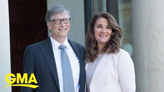 How Bill and Melinda Gates divorce could affect nearly $130 billion fortune l GMA