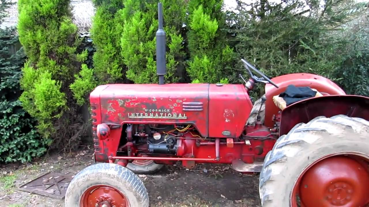 Mc Cormick International B250 Tractor Youtube