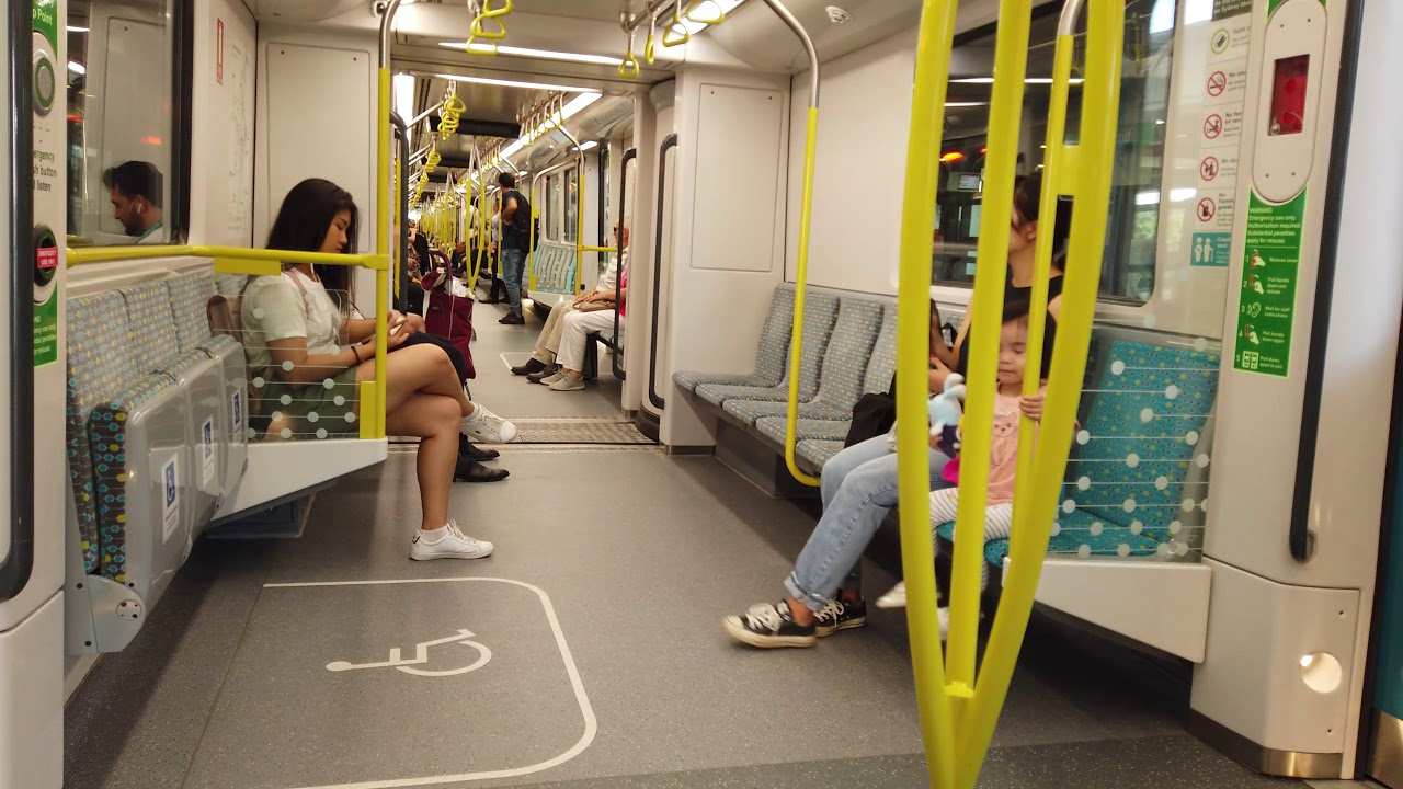 Train to Chatswood and Castle Hill