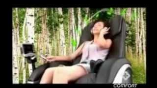Массажное кресло Comfort -6030/PUB(Элегантность дизайна, изящность и эргономичность S-образной конструкции спинки, а так же эффективный масса..., 2015-06-09T17:03:49.000Z)