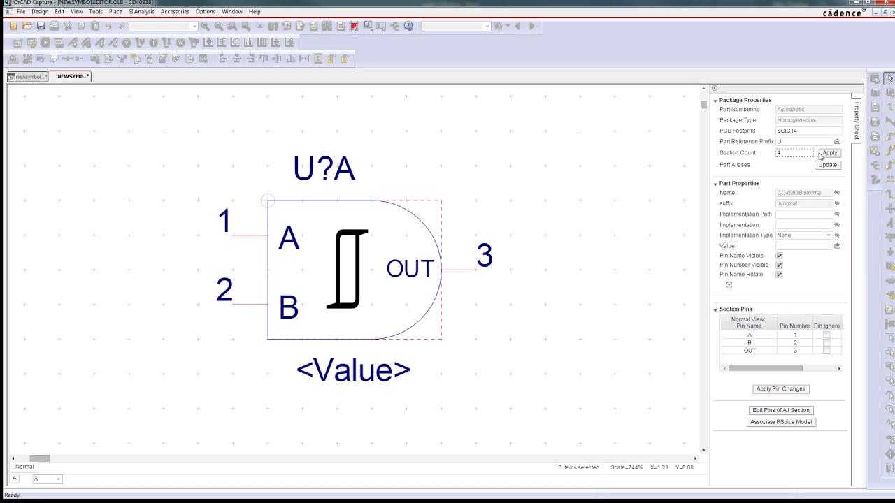 Orcad Symbol Editor Youtube
