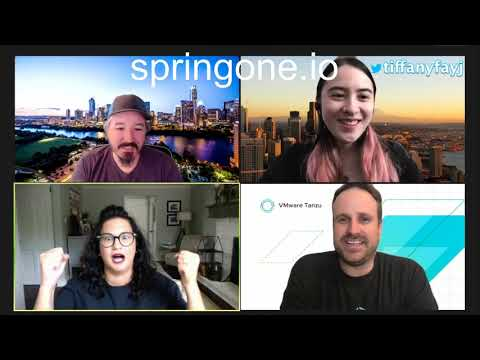 Tanzu Tuesdays - A Look at Spring One 2020 with Tasha Isenberg