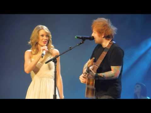 Taylor Swift & Ed Sheeran - I See Fire...