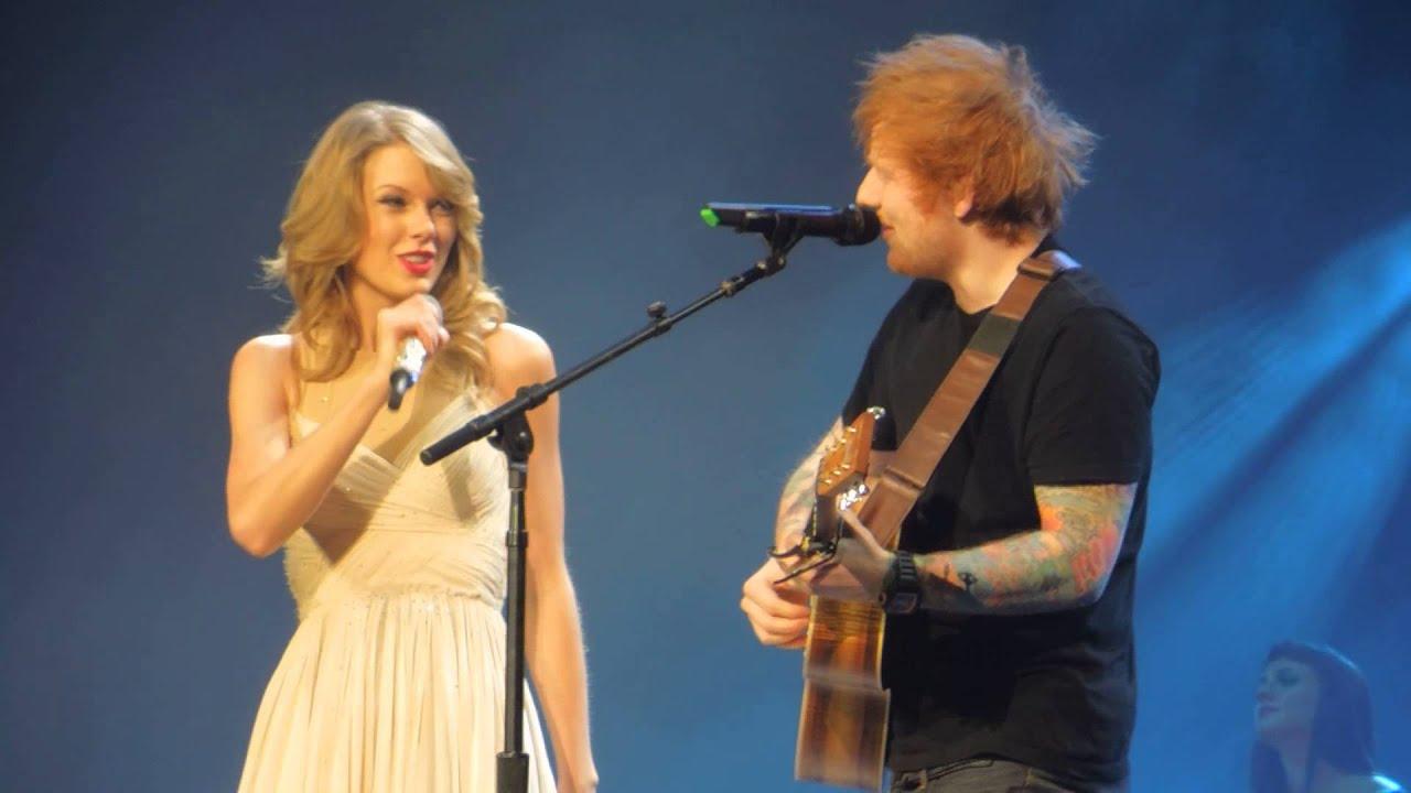 ed sheeran and taylor swift video