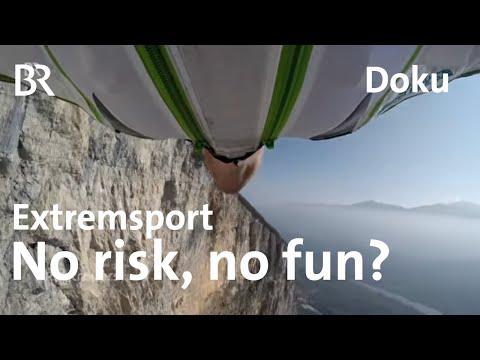 Spiel mit dem Tod: Was treibt Extremsportler an, ihr Leben zu riskieren? | Kontrovers | BR