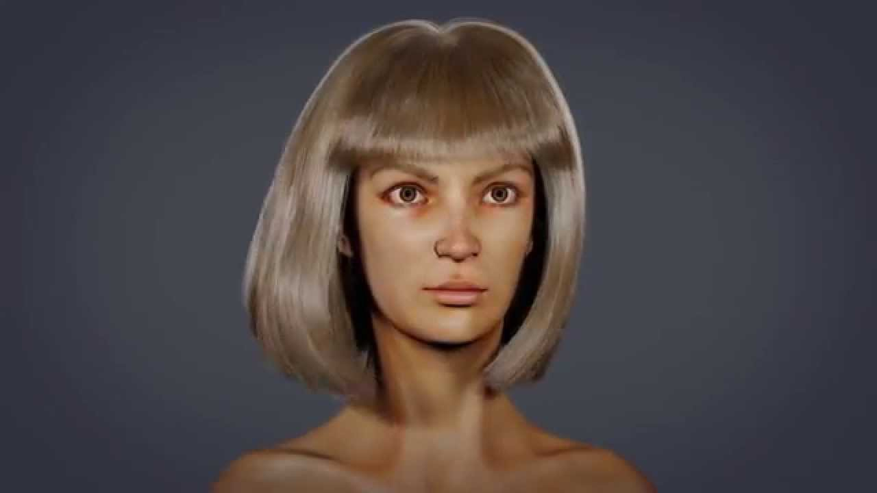 Demoreel 2014 3d Modeling And Realistic Hair Youtube