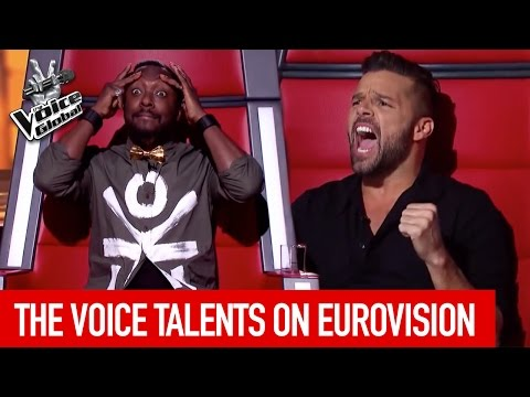 Thumbnail: The Voice talents participating on EUROVISION SONG CONTEST 2017 | The Voice Global