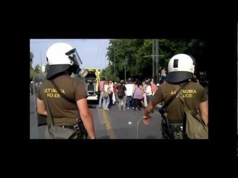 Greek uprising / Revolution 2011/2012