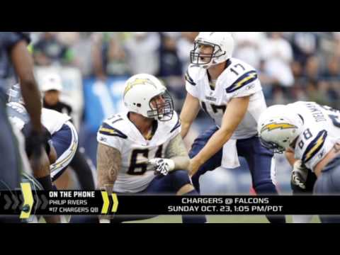Philip Rivers on passing Dan Fouts as the Chargers career passing leader