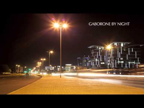 Gaborone CBD by Night - [Timelapse]