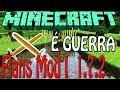Minecraft 1.7.2 - Flans Mod novas armas,paraquedas,tanques e aviões