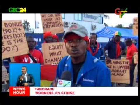 Schlumberger workers embark on strike