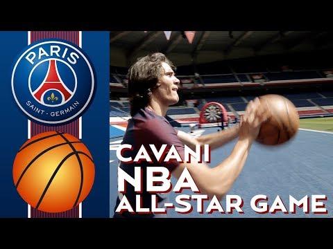 Edinson Cavani tiene futuro en la NBA