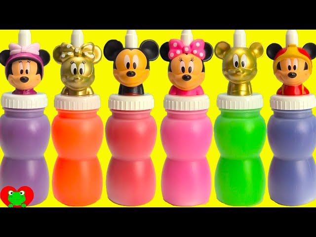 GOLD Mickey and Minnie Mouse Slime Surprises