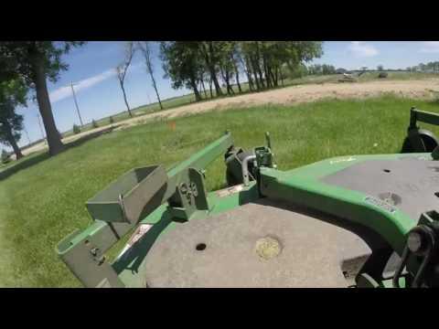 John Deere 1445 Front Mount Mowing