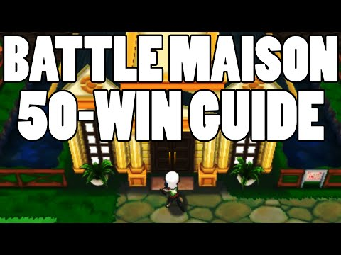 Omega Ruby and Alpha Sapphire Battle Maison Guide! How to Get 50 Win Streak ORAS