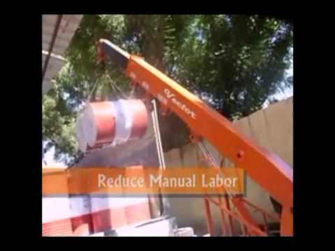 Smallest Cranes in the World (Material Handling Equipment)