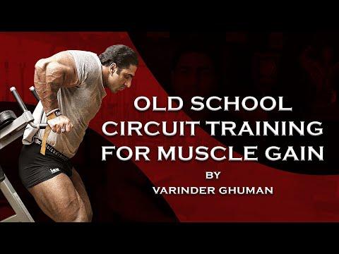 MOST EFFECTIVE OLD SCHOOL TRAINING METHOD FOR MUSCLE GAIN | Varinder Ghuman