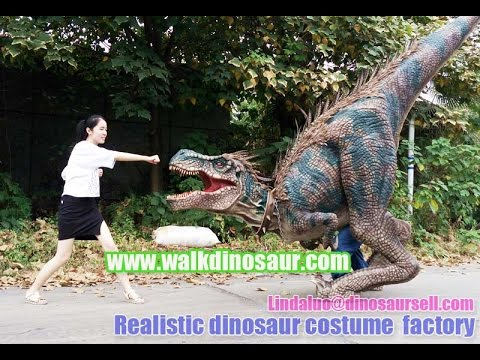Raptor For Sale >> Realistic raptor costume for sale - YouTube