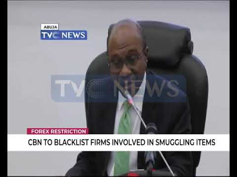CBN to backlist firms, individuals involved in smuggling items