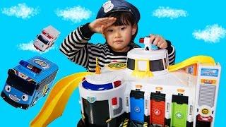불이야! 엘사를 구해줘! 타요 긴급출동센터 경찰놀이 뽀로로 콩순이 장난감 병원 Tayo the Little Bus ❤︎ Toys LimeTube & Toy ТАЙО Игрушки