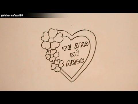 Dibujos De Amor Para Mi Novia Youtube