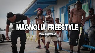 X-Out - Magnolia Freestyle | Official Music Video | TWONESHOTTHAT™